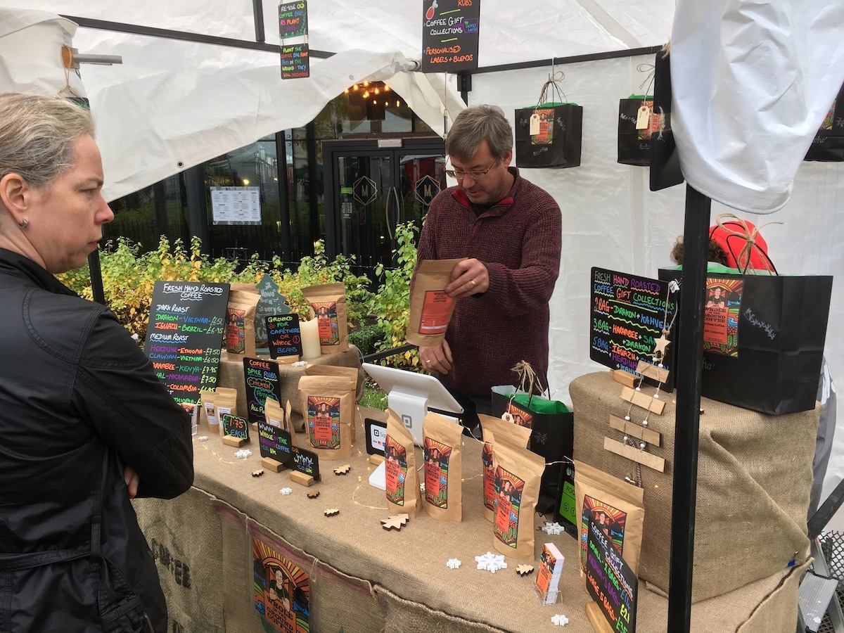 Our First Farmers Market - Don't you just love the packaging