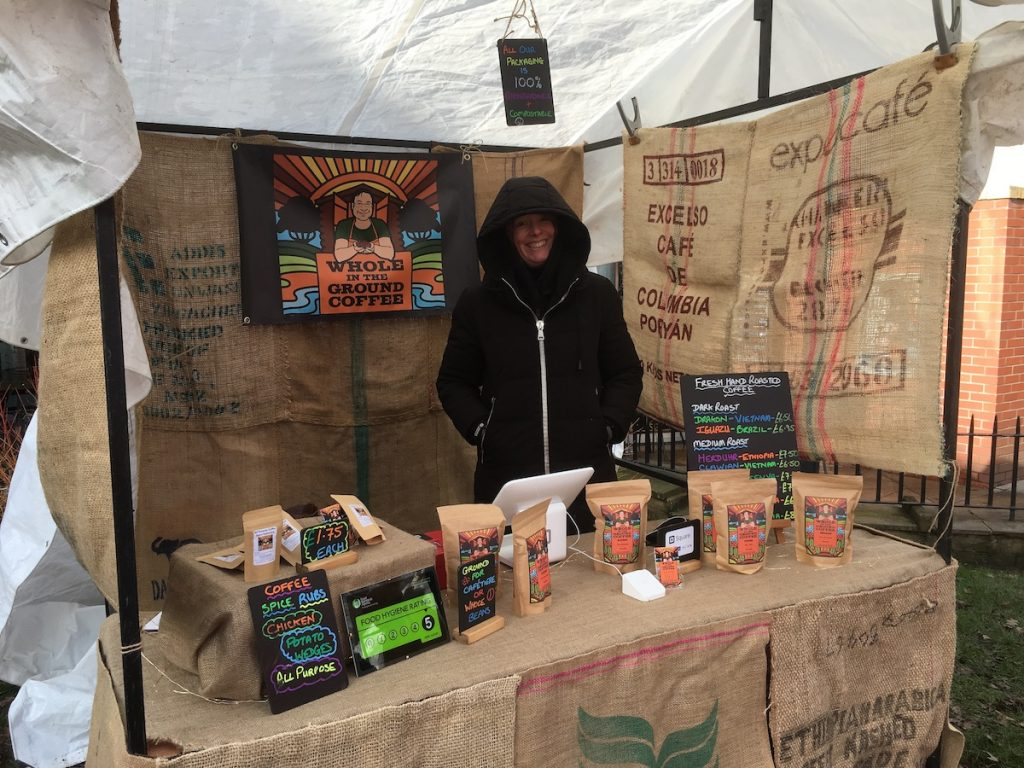 Whole In The Ground Coffee Wrapped Up Warm