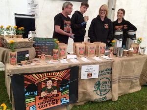 Whole In The Ground Coffee At Caring For Life - Open Day