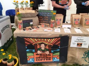 Whole In The Ground Coffee At Caring For Life - Open Day Stall 1