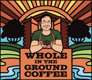 Whole In The Ground Coffee Logo