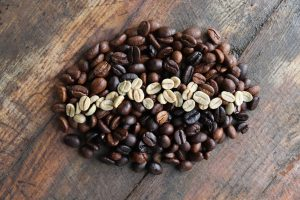 Whole In The Ground Coffee Bean Made of Beans