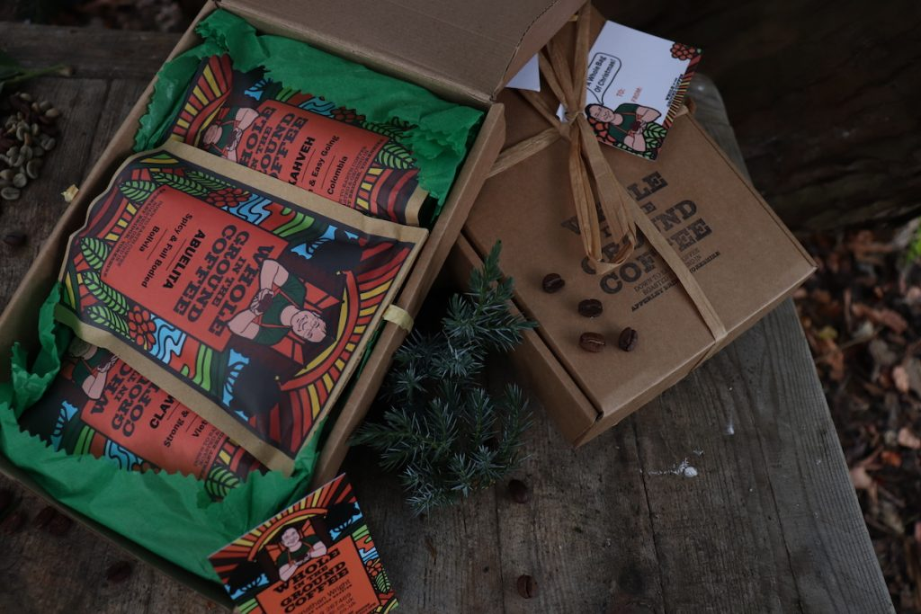 Whole In The Ground Coffee Medium Coffee Gift Boxes