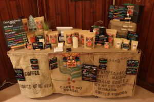 Whole In the Ground Coffee Stall Layout