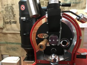 Our Original Coffee Roaster now used as our sample roaster
