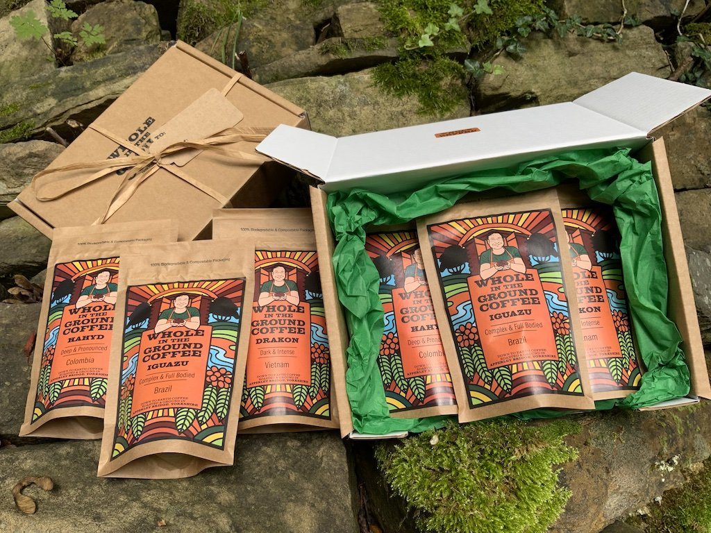 Dark Roast Gift Box - Drakon, Iguazu & Hahyd