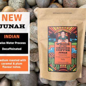 Junah - Indian Swiss Water decaffeinated