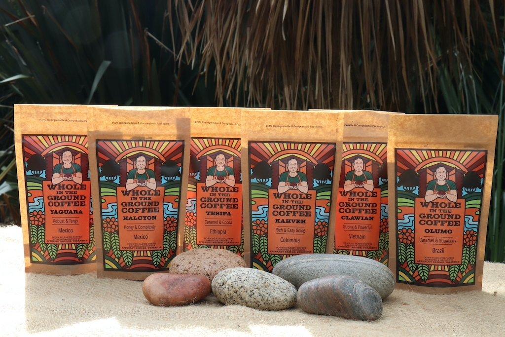 The Whole Medium Roast Taster Pack - Kahveh, Tesifa, Yaguara, Halcyon, Olumo & Clawian